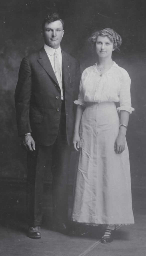 Floyd & Ella (Guilkey) Sutton, Noblesville, IN