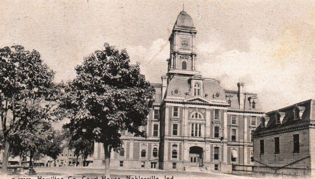 Hamilton Co. Court House, Noblesville, Ind. (1907)