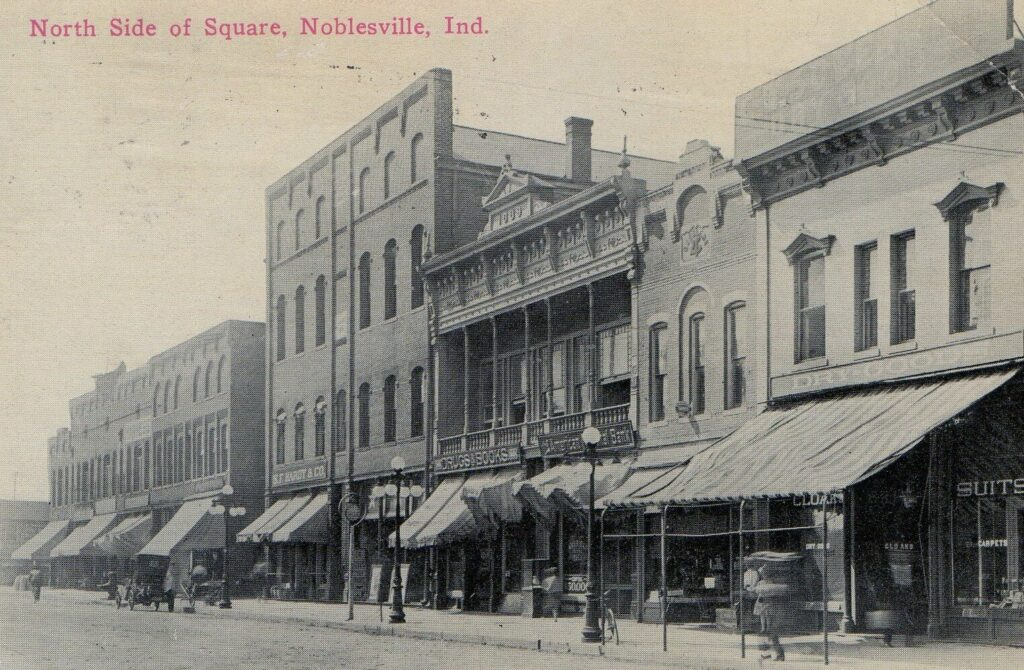 North side of square, Noblesville, IN-1