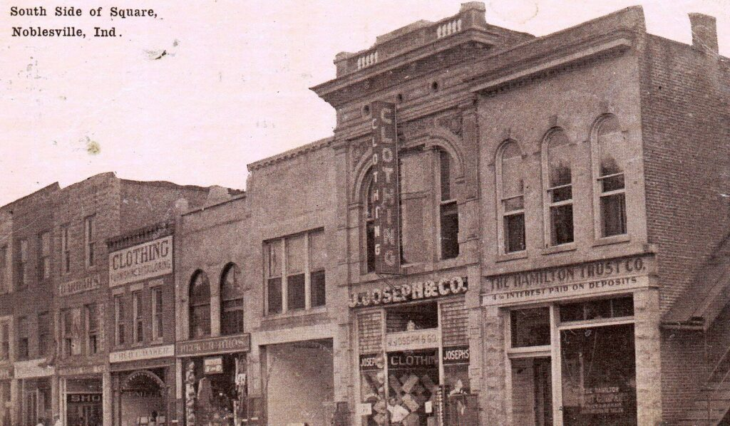 South Side of Square, Noblesville, Ind. (1911) (3)