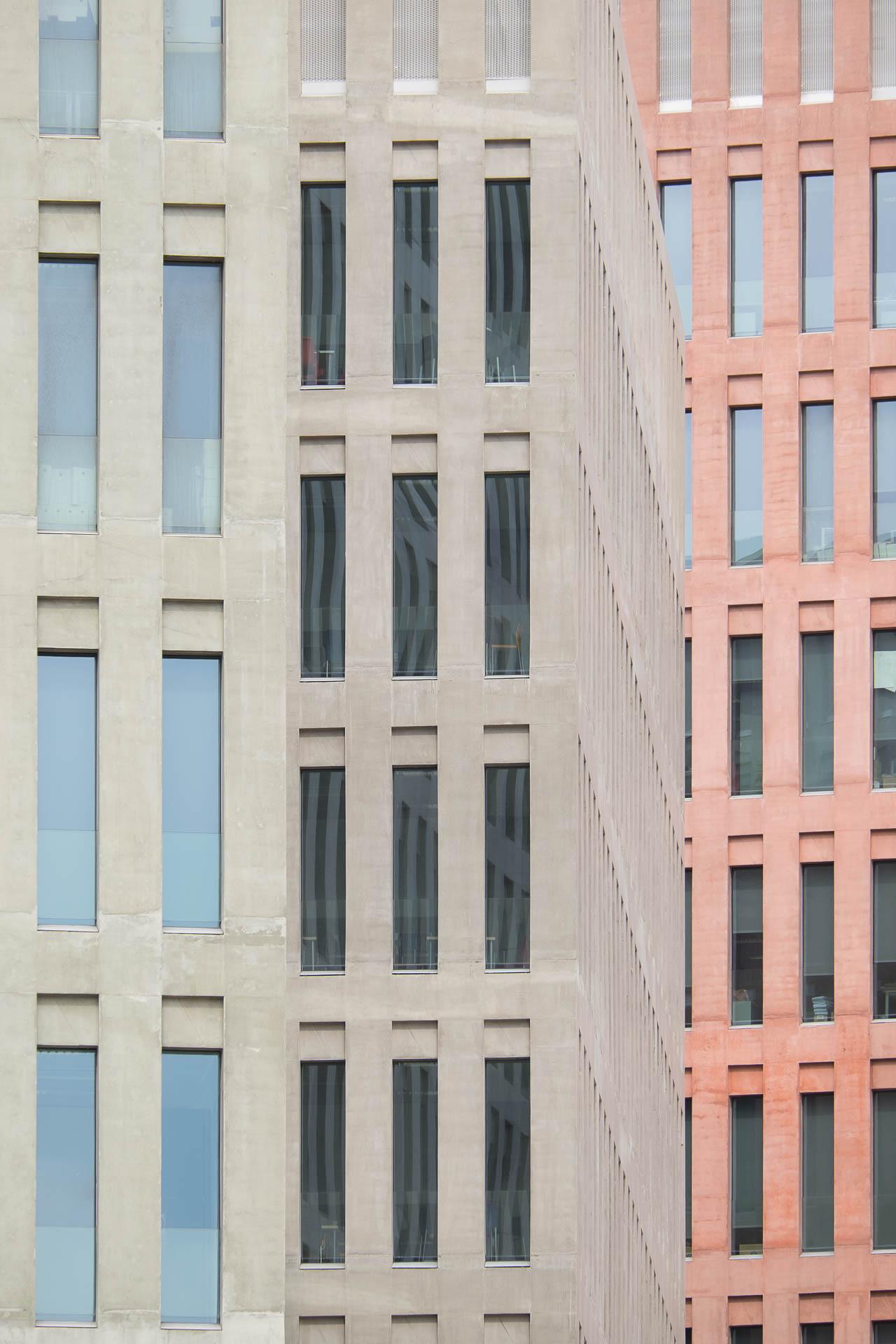 Ciutat de la Justicia Hospitalet - David Chipperfield + b720 Fermín Vázquez - Manolo Espaliú - Fotografía de Arquitectura