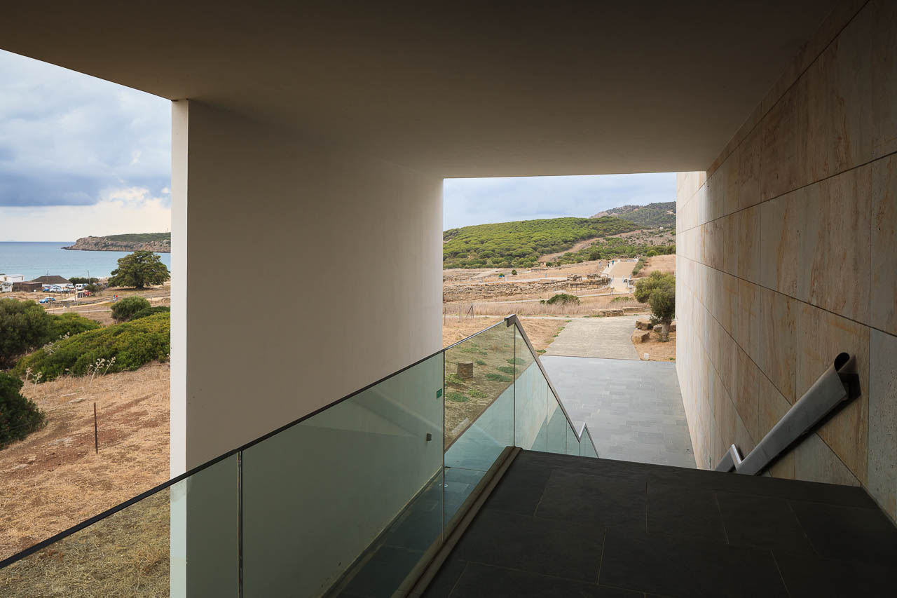 Museo Baelo Claudia - Vazquez Consuegra - Manolo Espaliú - Fotografía de Arquitectura