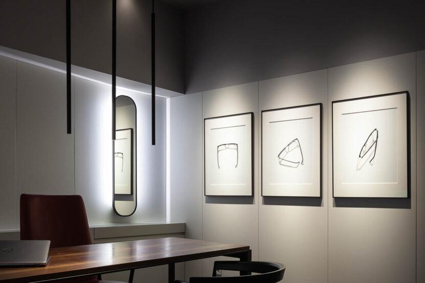 Óptica Cervantes - Sevilla | Giordano Baly Arquitecto - Manolo Espaliú - Fotografía de Arquitectura