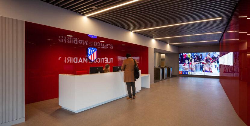 Oficinas Wanda Metropolitano Club Atlético de Madrid  |  Cruz y Ortiz Arquitectos