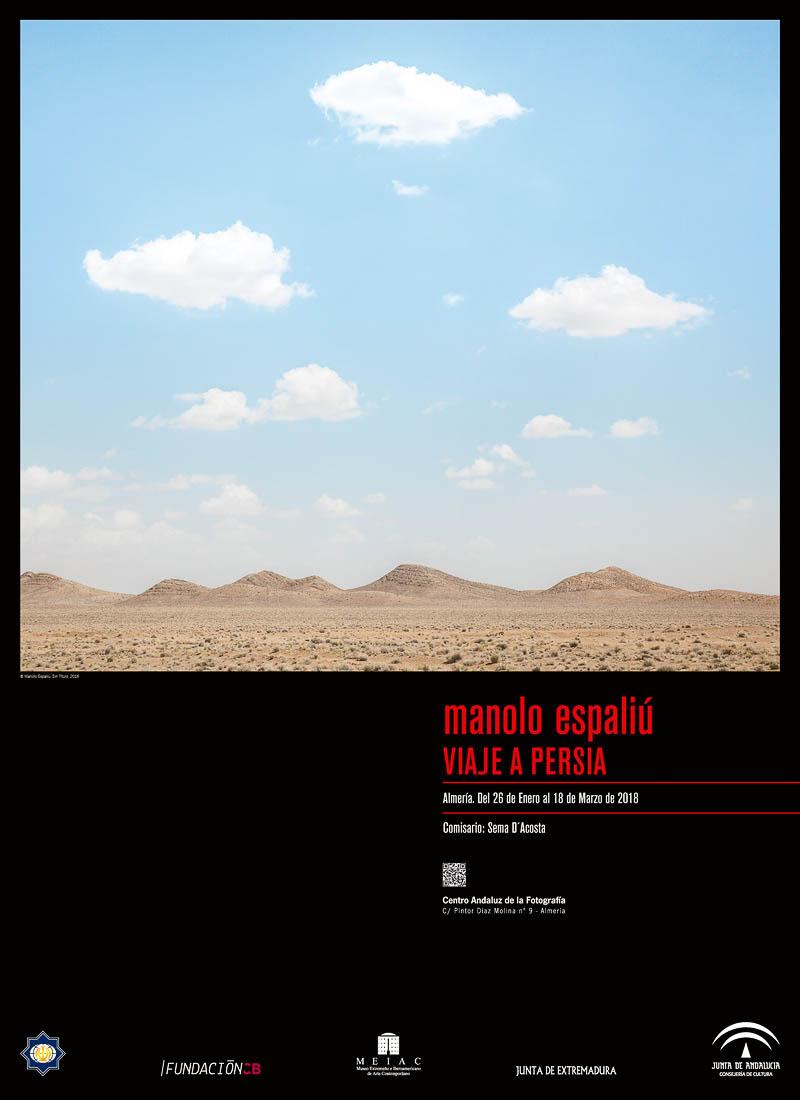 Manolo Espaliú - Exposición Viaje a Persia - Centro Andaluz de la Fotografía