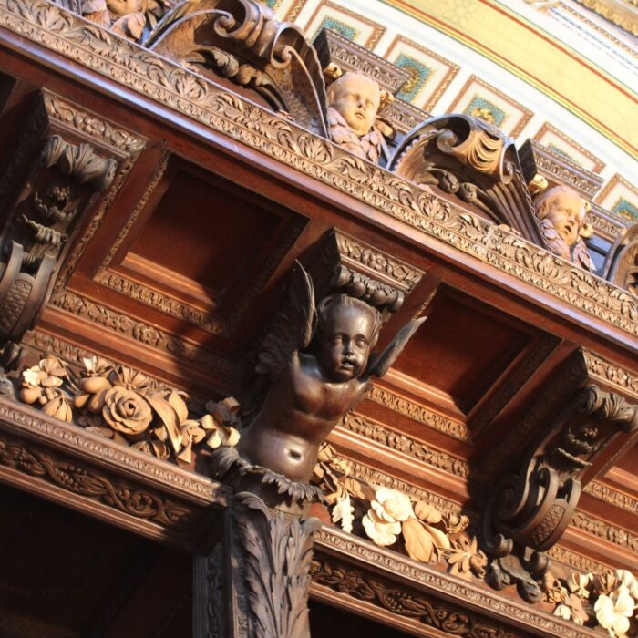 Grinling Gibbons St Paul's Cathedral quire