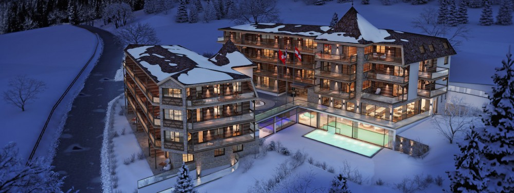 Wohnung in St. Anton kaufen - Kristall Spaces