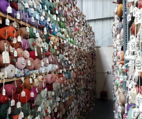 choose from 1000s of coloured yarns