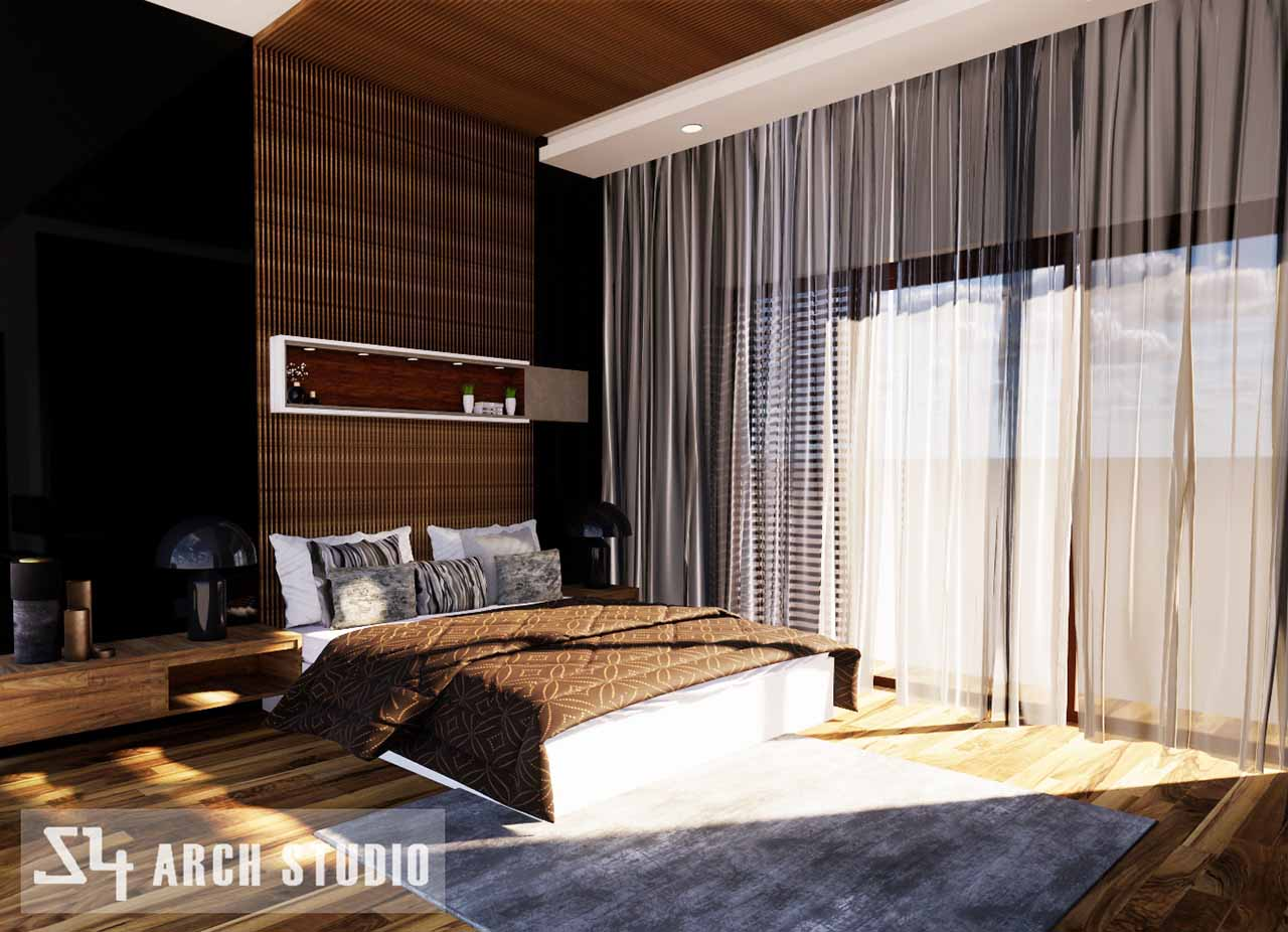 Master bedroom design - architects