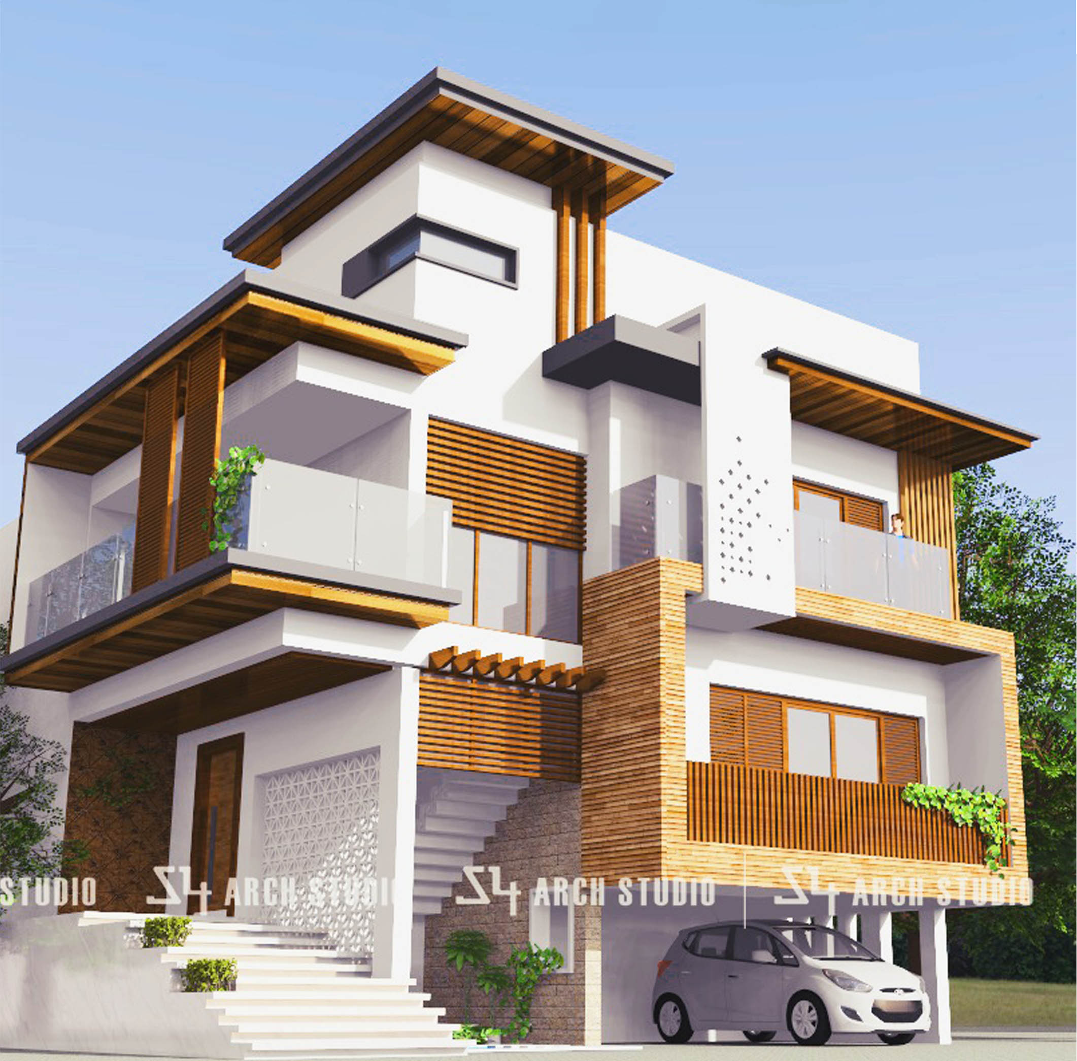 Modern-house-design-S4-Arch-Studio-Architects-in-bangalore-and-mangalore