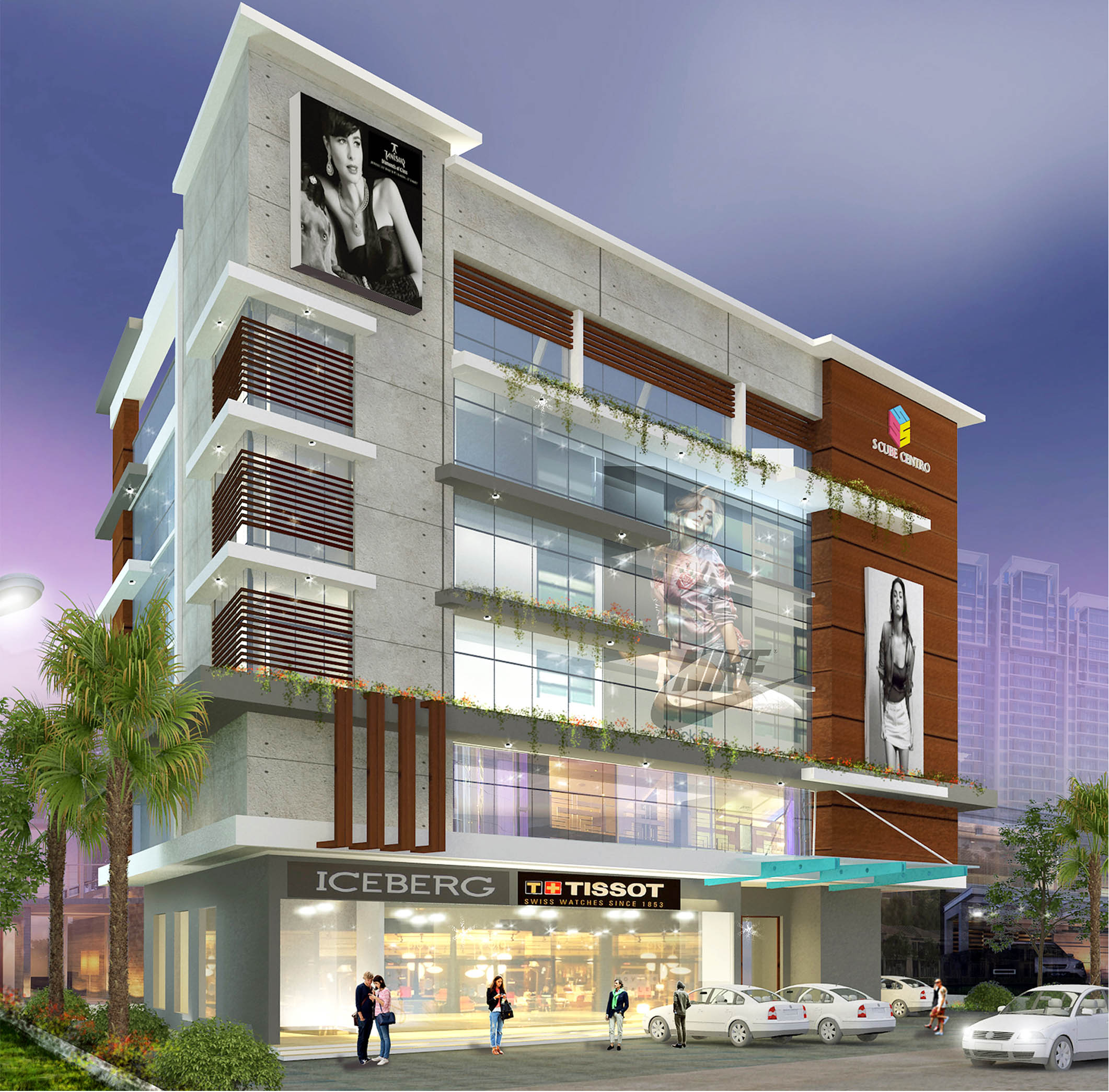 S-Cube-Centro-Commercial-building-S4-Arch-Studio-Designers-in-mangalore