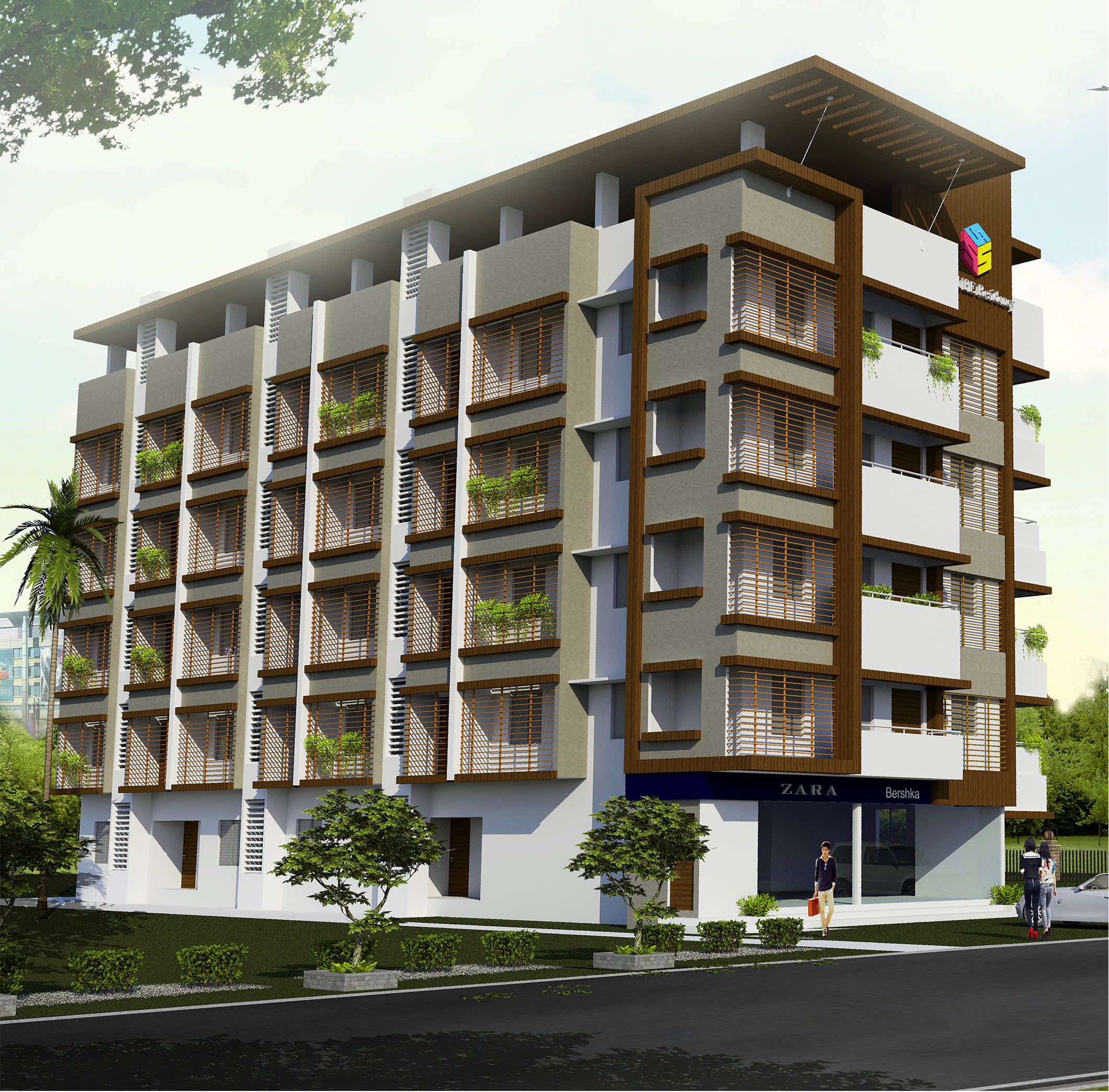 S-Cube-Residency-Apartment-design-S4-Arch-Studio-Architects-in-mangalore