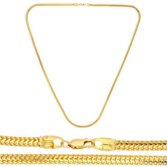 22ct Yellow Gold Chain - Rope Style 03