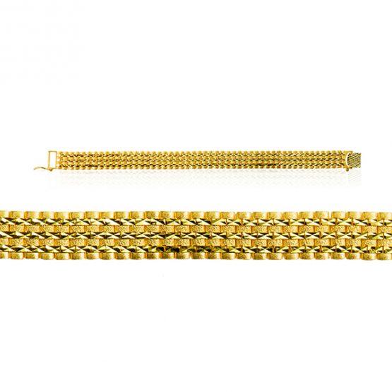Men's Casting Bracelet – KFB 904 22ct Yellow Gold 03