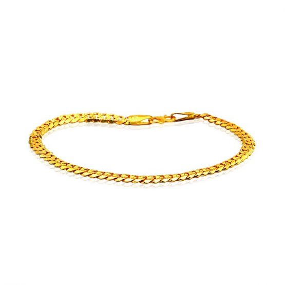 Men's Bracelet 22ct Yellow Gold 02