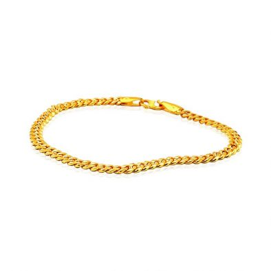 Men's Bracelet 22ct Yellow Gold 03