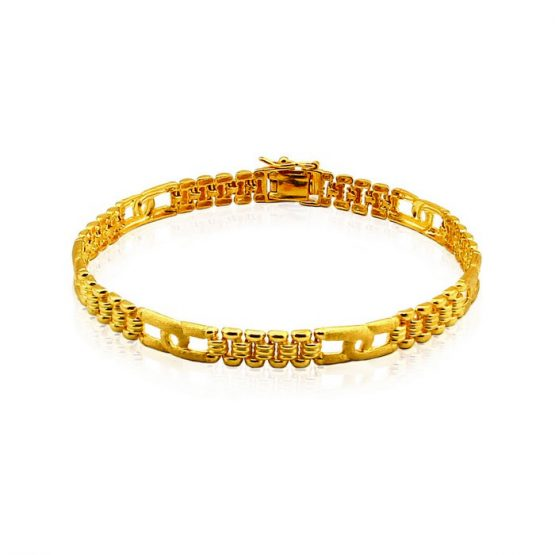 Men's Bracelet 22ct Yellow Gold 04