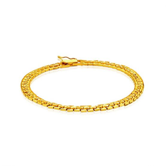 Men's Bracelet 22ct Yellow Gold 06