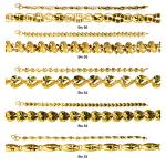 Ladies Casting Bracelets 22ct Yellow Gold Bundle 01 1