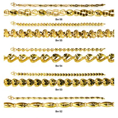 Ladies Casting Bracelets 22ct Yellow Gold Bundle 01
