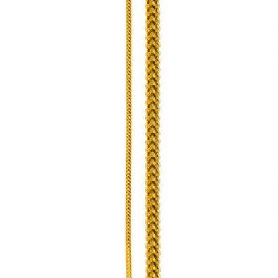 22ct Yellow Gold Chain 20