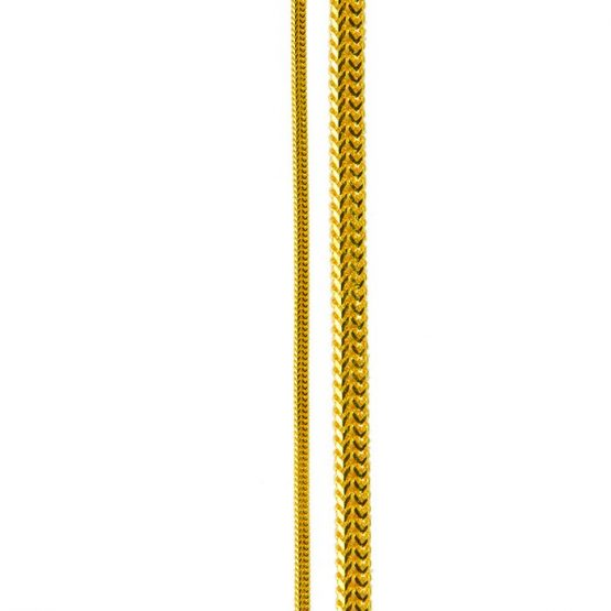 22ct Yellow Gold Chain 24
