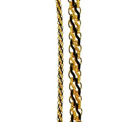 Ladies Chain - Fancy Design 22ct Yellow Gold & Mangalsutra 01