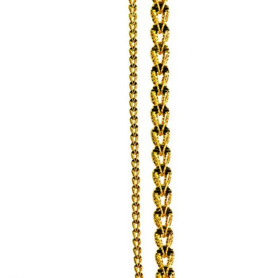 22ct Yellow Gold Chain 25
