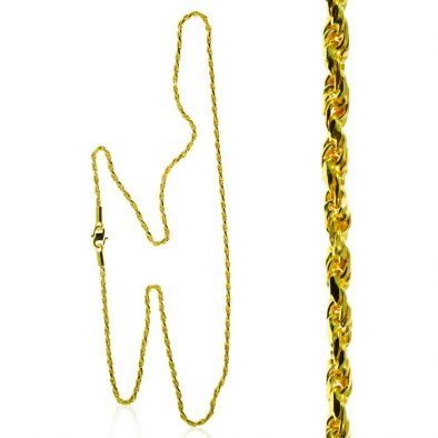 22ct Yellow Gold Chain 56