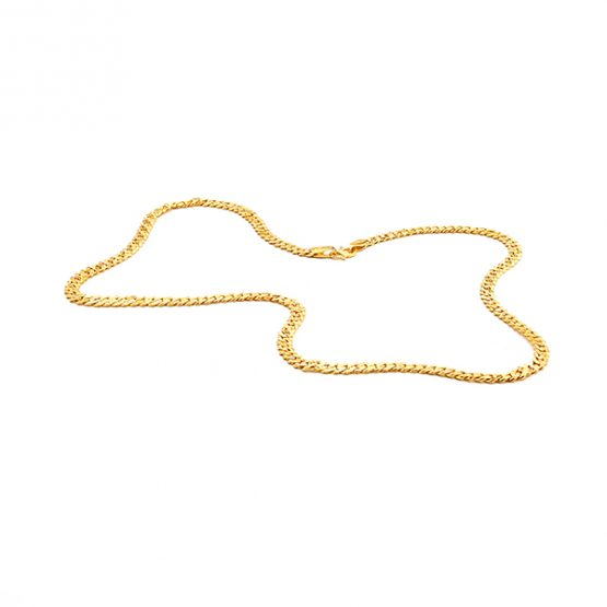22ct Yellow Gold Chain - Cowboy Style 03