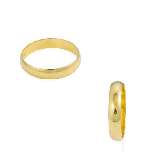 22ct Yellow Gold Wedding Band Ring 01