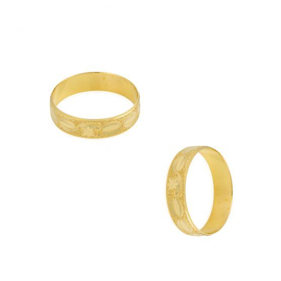 22ct Yellow Gold Wedding Band Ring 03