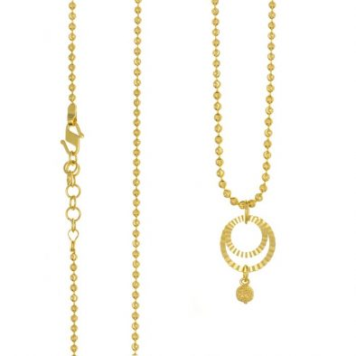 22ct Yellow Gold Heavy Necklace 10