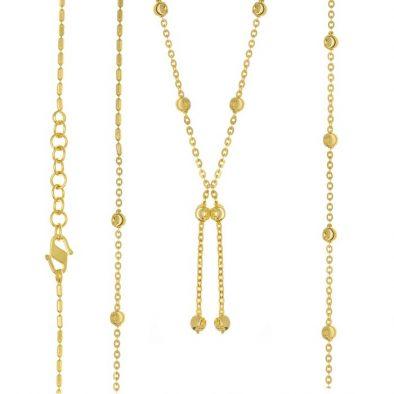 22ct Yellow Gold Heavy Necklace 08