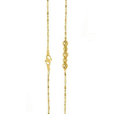 Ladies Chain – Fancy Design 22ct Yellow Gold 08