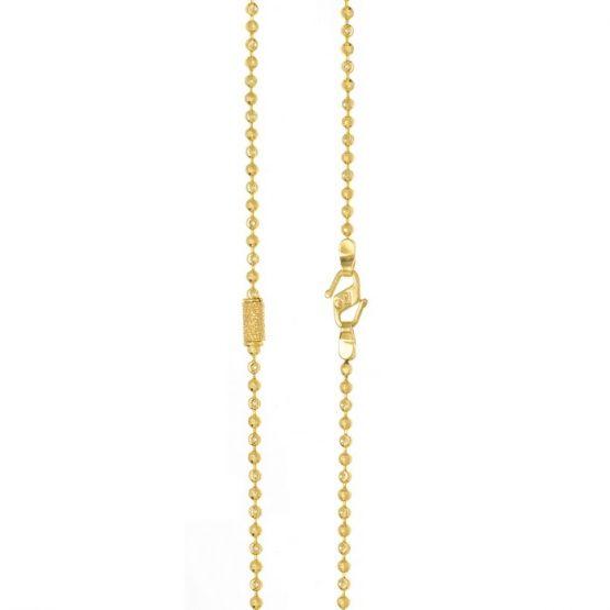 Ladies Chain – Fancy Design 22ct Yellow Gold 09