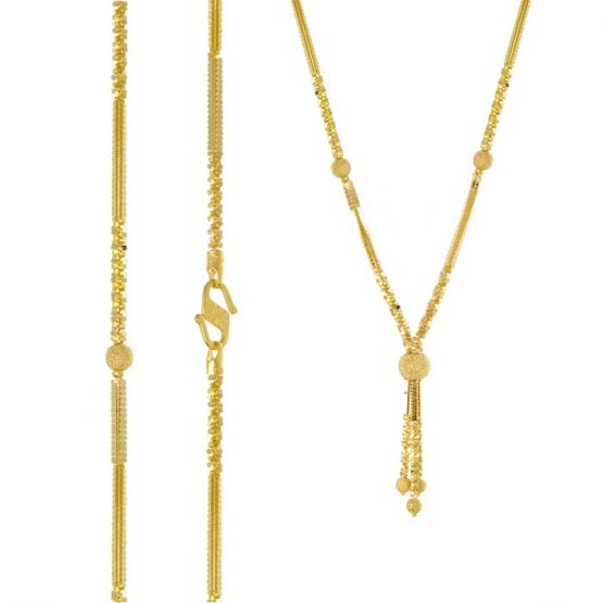 22ct Yellow Gold Heavy Necklace 07