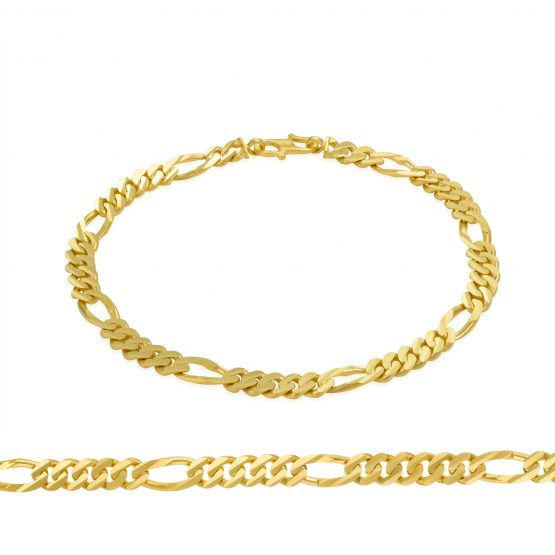 Men's Bracelet 22ct Yellow Gold 09