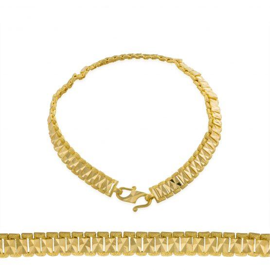 Ladies Bracelet 22ct Yellow Gold 38