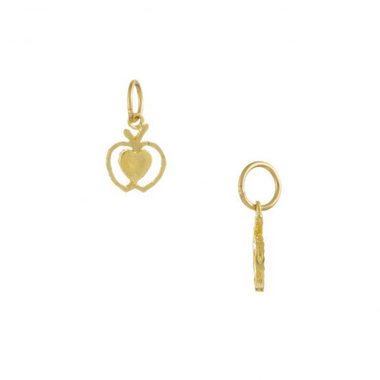 22ct Yellow Gold Ladies Pendant – Fancy Design 01
