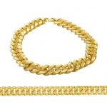 Men's Bracelet 22ct Yellow Gold 11 1
