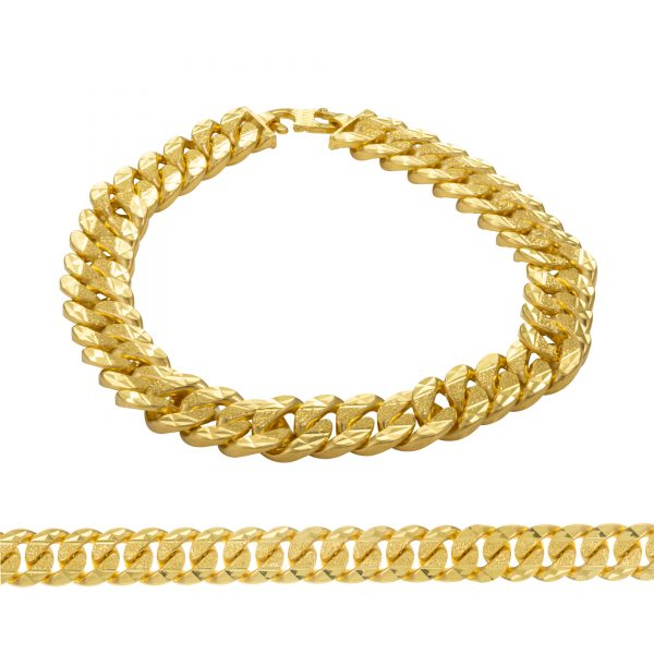 Men's Bracelet 22ct Yellow Gold 11
