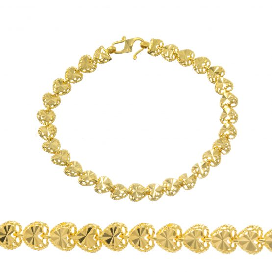 Ladies Bracelet 22ct Yellow Gold 08