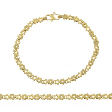 Ladies Bracelet 22ct Yellow Gold 10