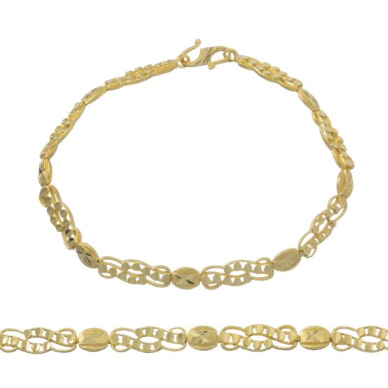 Ladies Bracelet 22ct Yellow Gold 11