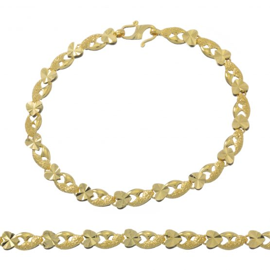 Ladies Bracelet 22ct Yellow Gold 12