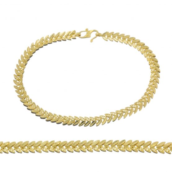 Ladies Bracelet 22ct Yellow Gold 13
