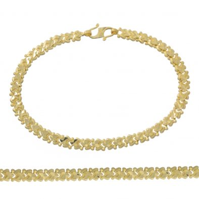 Ladies Bracelet 22ct Yellow Gold 15