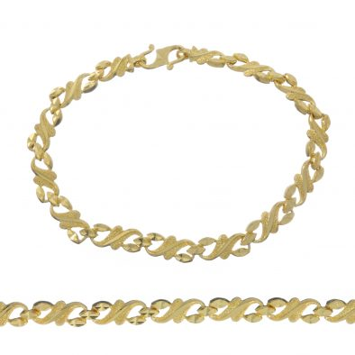 Ladies Bracelet 22ct Yellow Gold 17