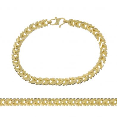 Ladies Bracelet 22ct Yellow Gold 18